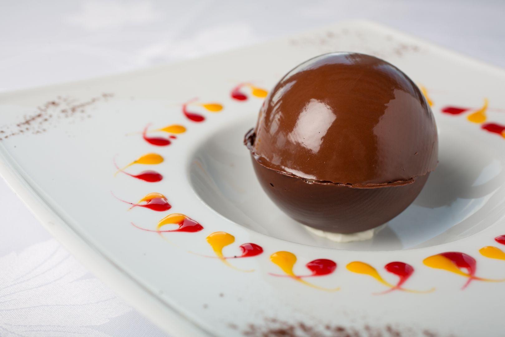 Un dessert au chocolat réalisé dans notre Restaurant